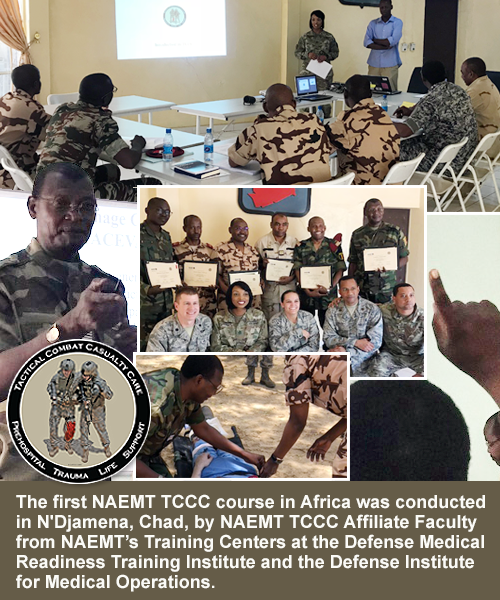 NAEMT TCCC Course in Chad, Africa