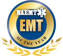 EMT of the Year logo